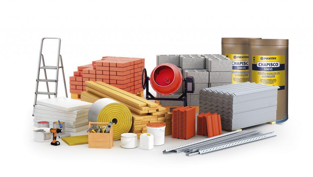 Tudo que precisa em material de construção